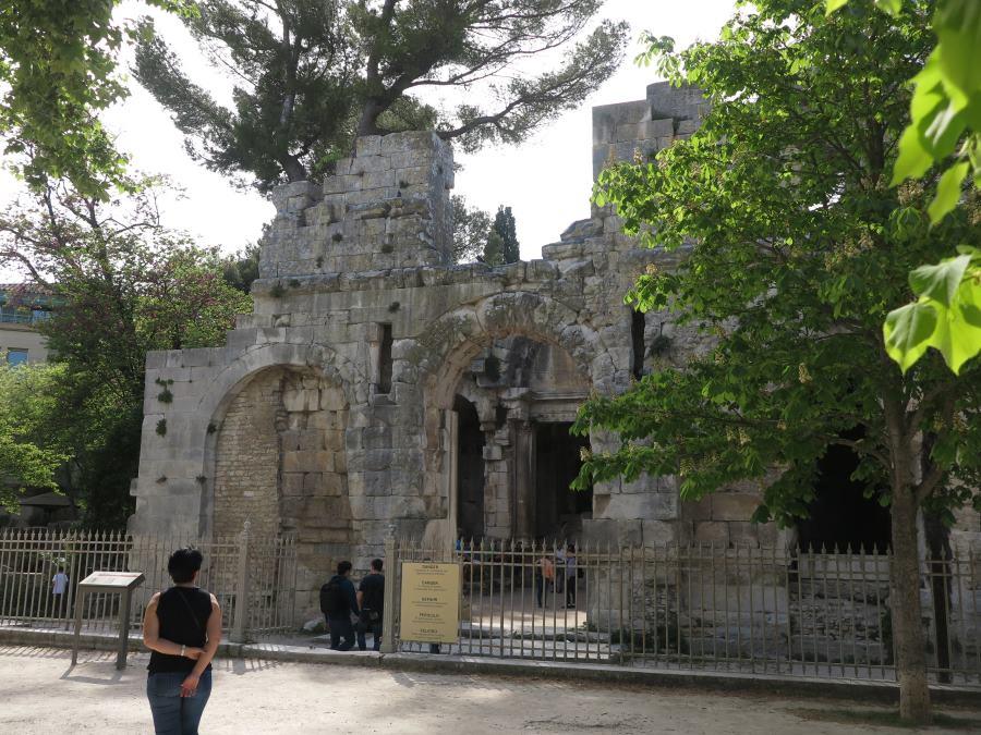 Templo de Diana en los Jardines de La Fontaine