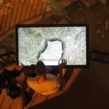 Interior de la Torre Magna de Nîmes