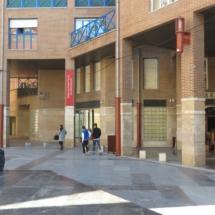 Entrada al Museo del Puerto Fluvial de Zaragoza