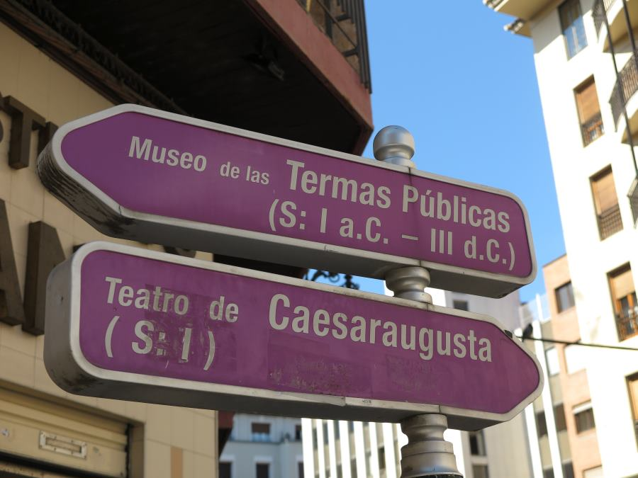 Ruta romana de Caesaraugusta