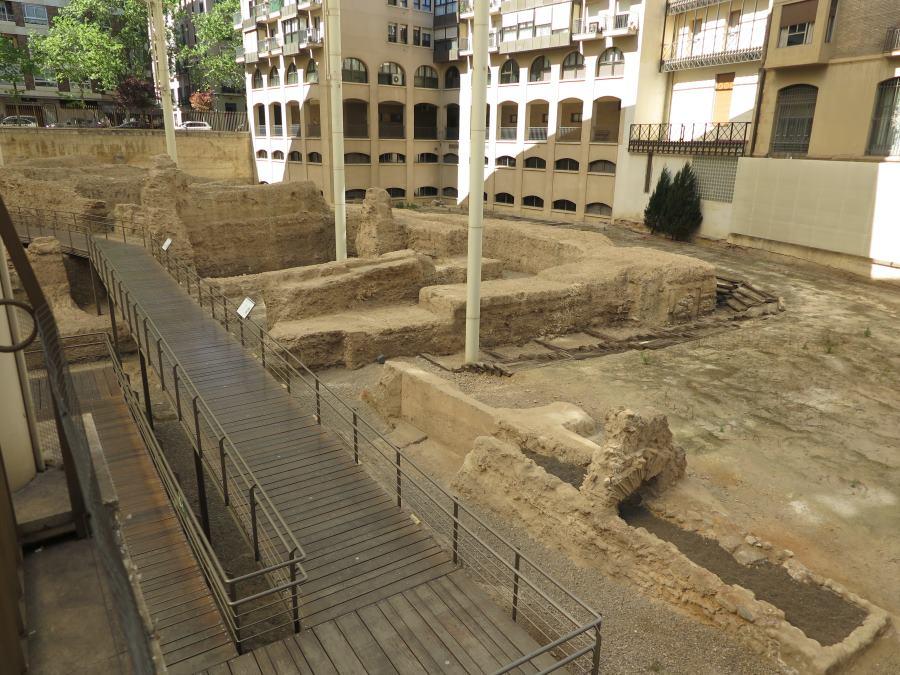 Antiguo teatro romano de Zaragoza