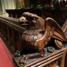 Abadía de Bath: coro