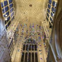 Abadía de Bath: techo