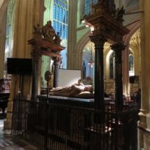 Abadía de Bath: tumba