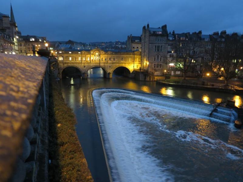 Ppuente de Pulteney de Bath