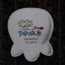 Cartel indicativo de la Casa del Ratoncito Pérez