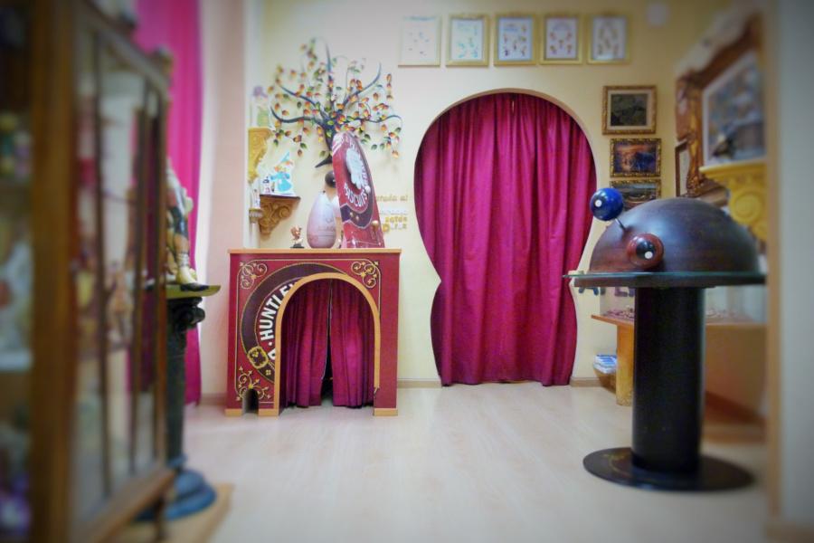 Entrada al despacho de don Ratoncito Pérez en su casa de Madrid