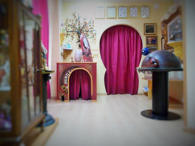 Interior de la casa del Ratoncito Pérez
