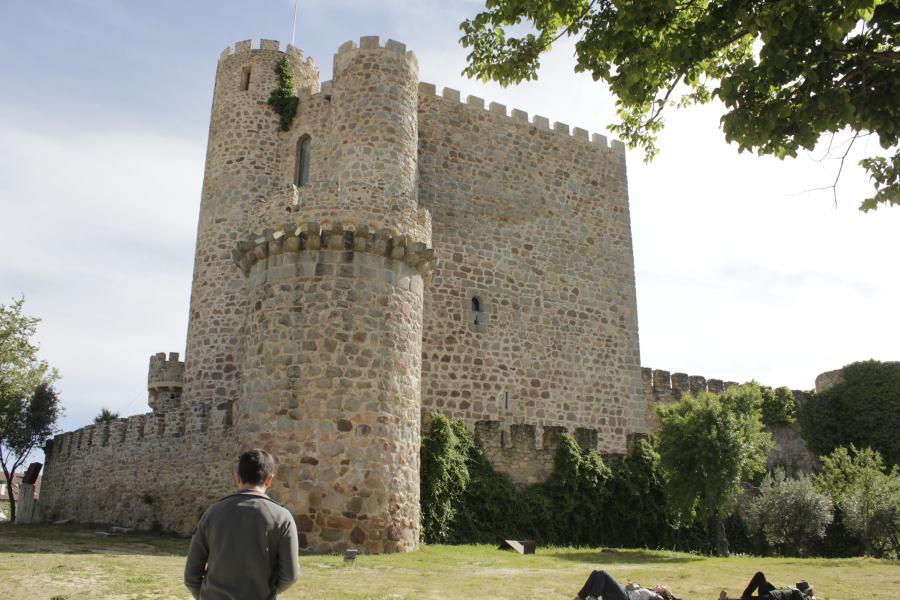 Torre del homenaje del Castillo de la Coracera, en San Martín de Valdeiglesias