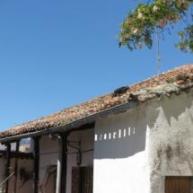 Detalle de una casa de San Martín de Valdeiglesias