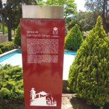 Entorno de la iglesia de San Martín Obispo