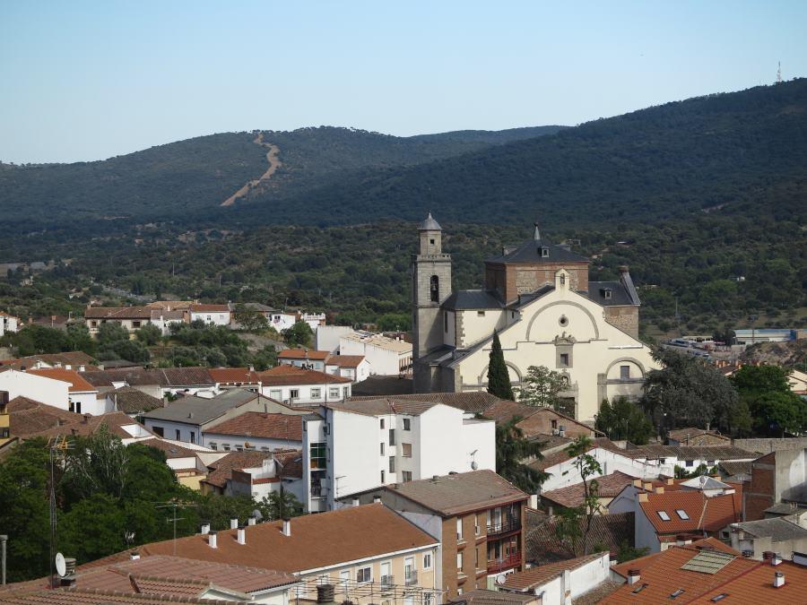 Iglesia de San Martín, en San Martín de Valdeiglesias
