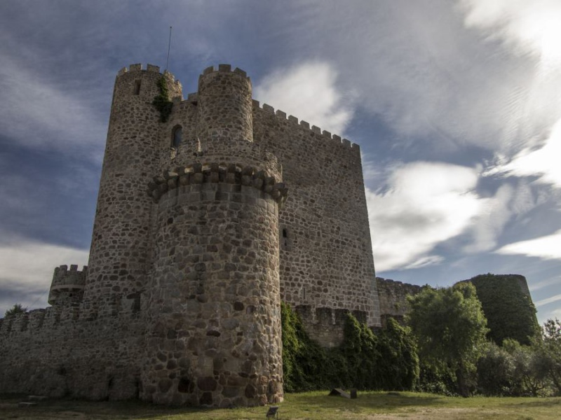 Castillo de la Coracera, en San Martín de Valdeiglesias