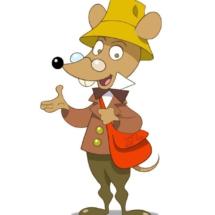 Retrato de Ratón Pérez