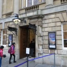 Termas de Bath: entrada