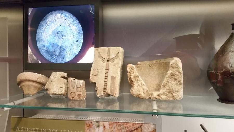 Termas de Bath: museo