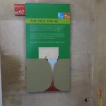 Termas de Bath: esquema del manantial