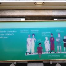 Termas de Bath: personajes de la guía infantil