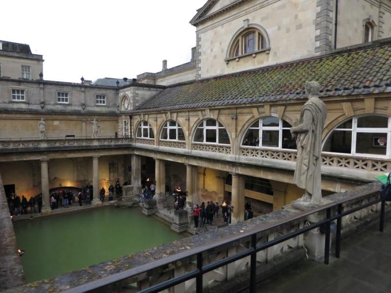 Termas de Bath: piscina