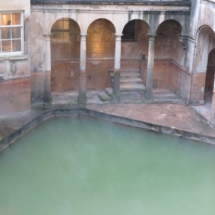 Termas de Bath: piscina trasera