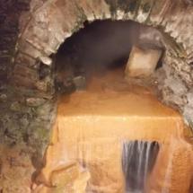 Termas de Bath: pozo original