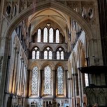 Bóvedas de la catedral de Salisbury
