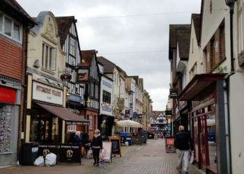 Calle de gremios de Salisbury