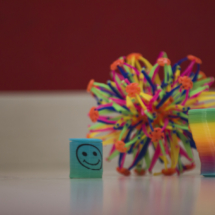 Objetos para mindfulness infantil