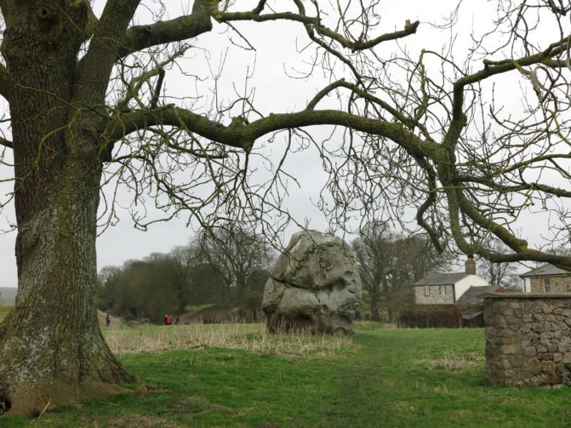Gran menhir en Avebury