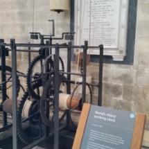reloj más antiguo mundo catedral Salisbury