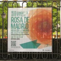 Rosaleda del Parque del Oeste de Madrid