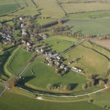 Vista aérea de Avebury