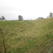 Zanja y menhires Avebury