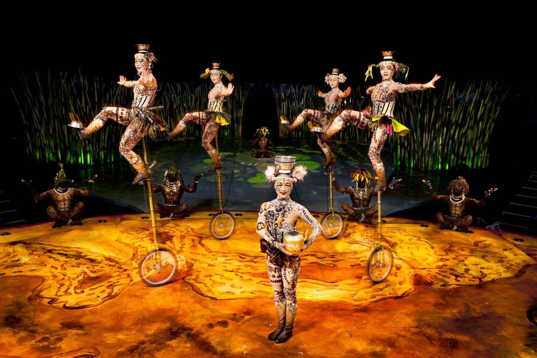 El circo del sol presenta su nuevo espect culo en madrid for Espectaculo circo de soleil