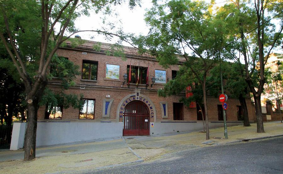 Fachada de la Escuela de Cerámica de Madrid