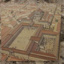 Foro reconstruido de Arles