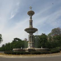 Fuente de Juan de Villanueva, en el Parque del Oeste