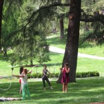 Esplanada del Parque del Oeste de Madrid