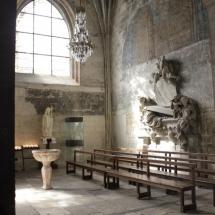 Interior de Saint Trophime, en Arles