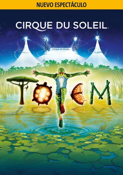 Cartel de Totem, el nuevo espectáculo del Circo del Sol