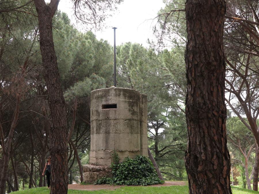 Búnker del Parque del Oeste de Madrid