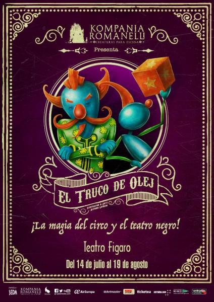 Cartel de 'El Truco de Olej'