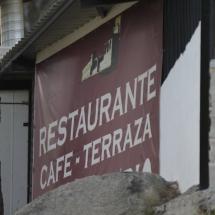 Restaurante del Pantano de San Juan, en Madrid