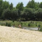 Playa fluvial del río Alberche