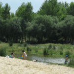 Un día en la playa del río Alberche