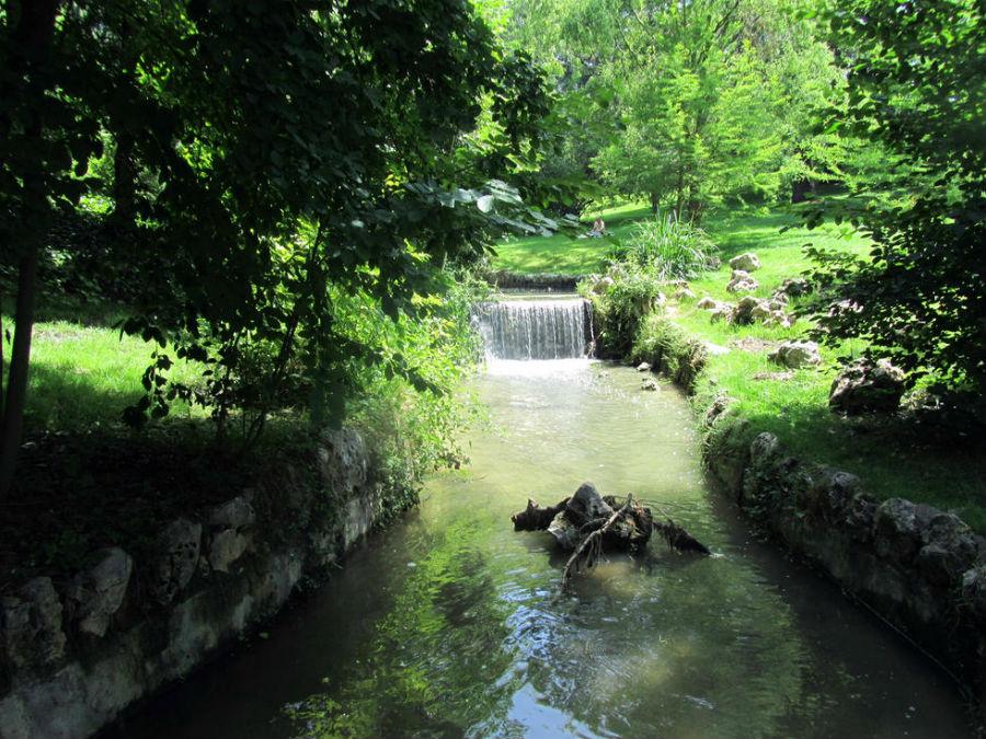 Ría artificial del Parque del Oeste de Madrid