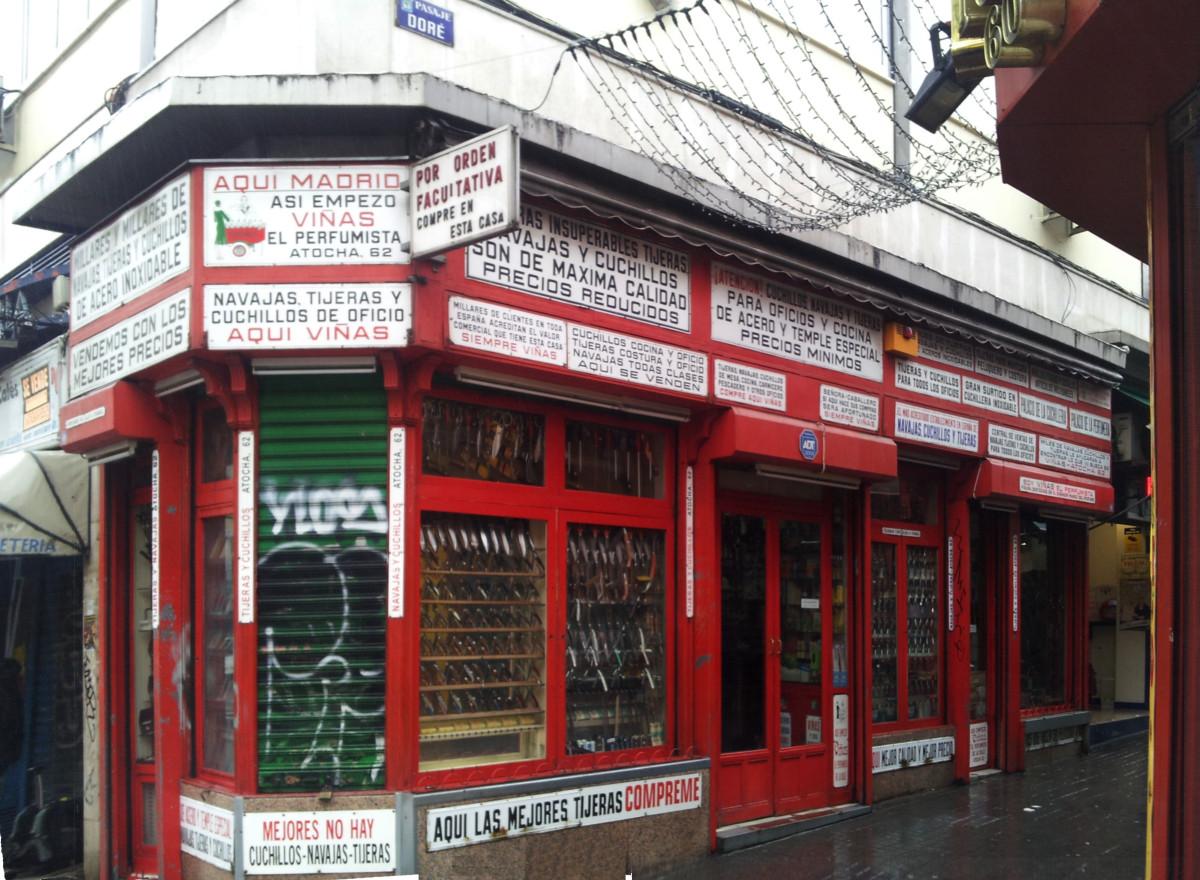 La Cuchillería Viñas es una de las tiendas más antiguas del centro de Madrid