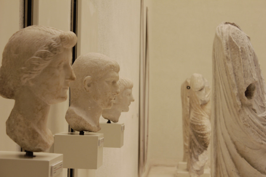 Museo de Cádiz: bustos romanos