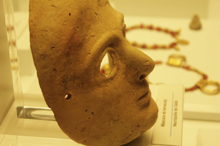 Museo de Cádiz: máscara teatral