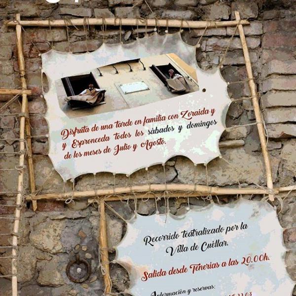 'Espronceda en cueros', una visita guiada temática por Cuéllar